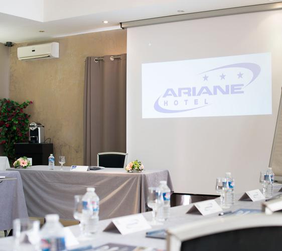 location salle de séminaire formation à Fos sur Mer Hotel Ariane
